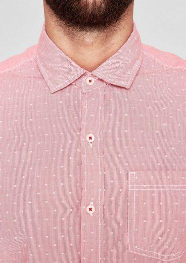 S.oliver Red Label Regular: Hemd Mit Muster-mix