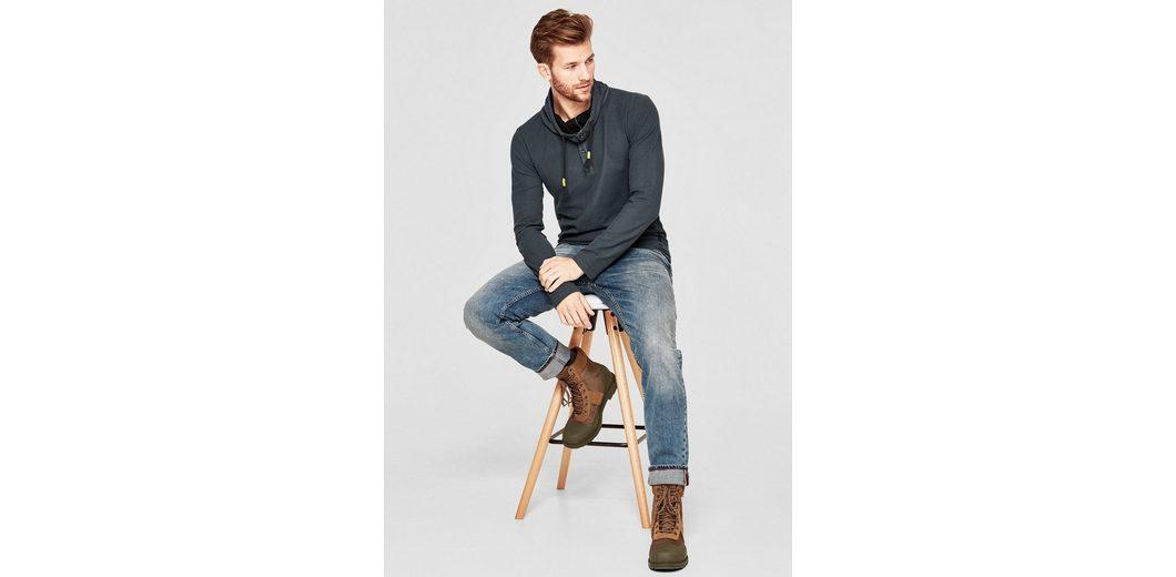s.Oliver RED LABEL Shirt mit Turtleneck Auftrag Billig Verkauf Erkunden Auslass Nicekicks Finden Große Billig Verkauf Versorgung 3GUDKIEFO
