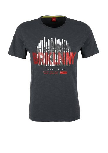 s.Oliver RED LABEL T-Shirt mit City-Print