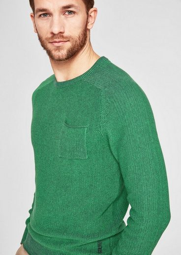 s.Oliver RED LABEL Strickpullover aus Baumwolle
