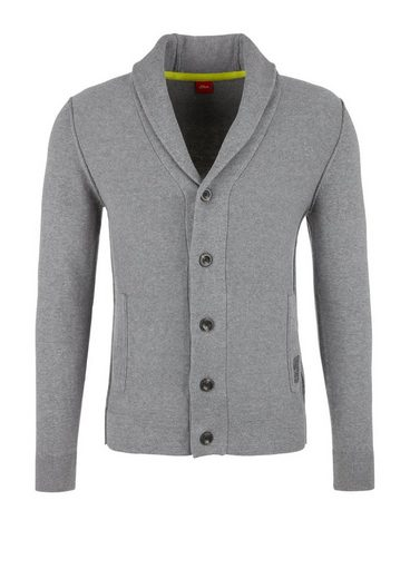 S.oliver Red Label Cardigan With Shawl Collar