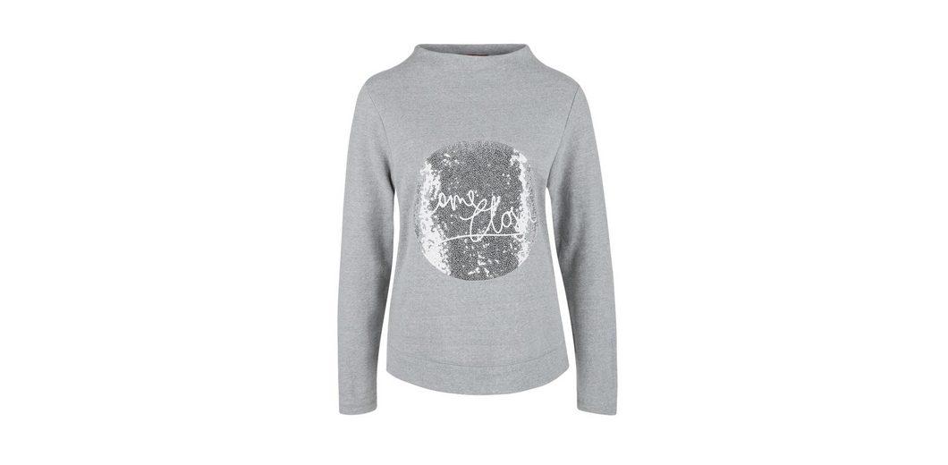 s.Oliver RED LABEL Sweater mit Pailletten-Applikation Günstige Online Günstig Kaufen Erschwinglich Verkauf Mit Paypal Vorbestellung Günstig Online Rabatte XAV4f