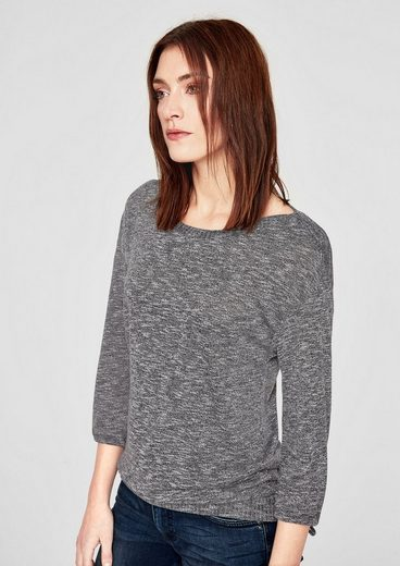 s.Oliver RED LABEL Jerseyshirt mit 3/4-Arm