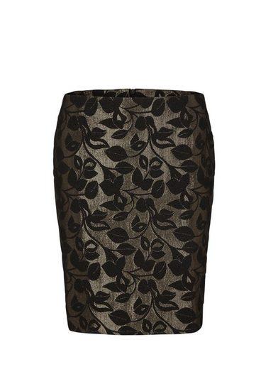 S.oliver Black Label Miniskirt From Glittering Jacquard