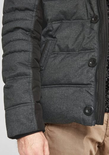 s.Oliver RED LABEL Warme Steppjacke im Materialmix