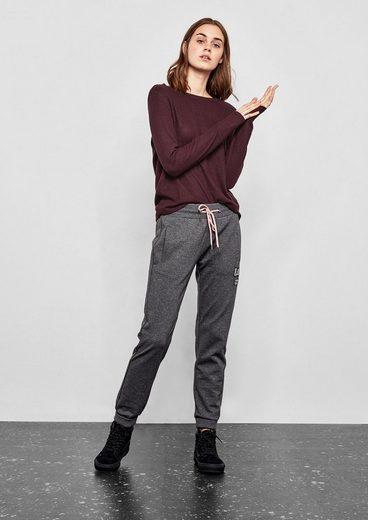 Q/s Designed By Softer Melange-pullover