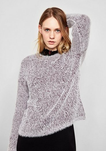 Q/S designed by Pullover aus Fancy-Garn