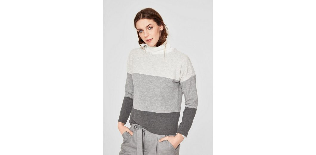 s.Oliver RED LABEL Struktur-Sweater mit Colourblocking Bester Verkauf Verkauf Versorgung PNBL1c8