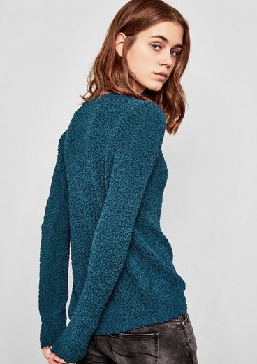 Q/S designed by Pullover mit Fantasiemuster