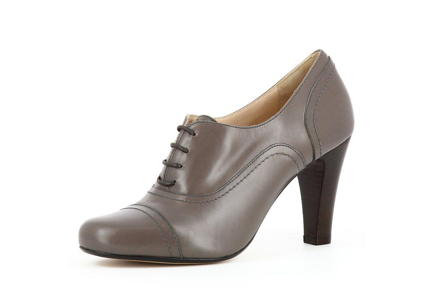 Evita »MARIA« Schnürpumps   Schuhe > Pumps > Schnürpumps   Braun   Evita
