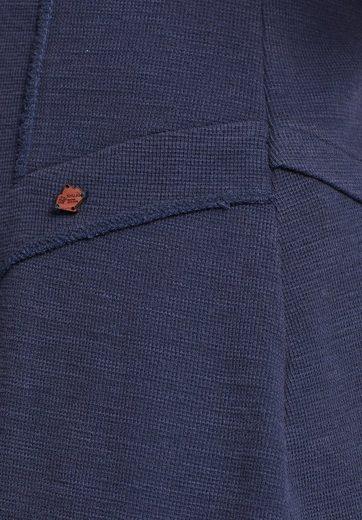 khujo Rundhalsshirt MONNJA, mit asymmetrischem Schnitt