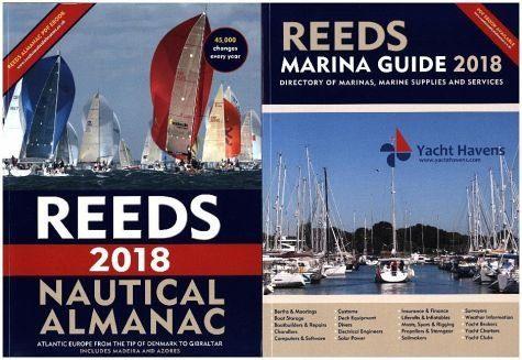 Broschiertes Buch »Reeds Nautical Almanac 2018«