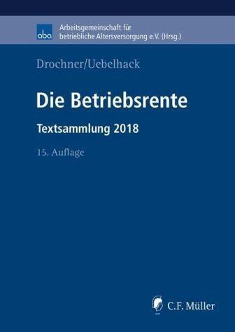 Broschiertes Buch »Die Betriebsrente«