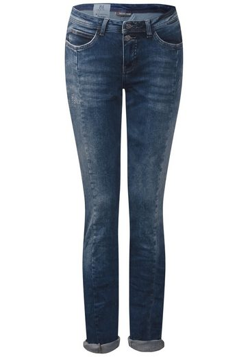 Street One Crinkle Stretch Denim Crissi