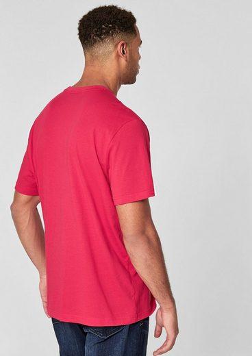 s.Oliver RED LABEL Jerseyshirt mit Schriftprint