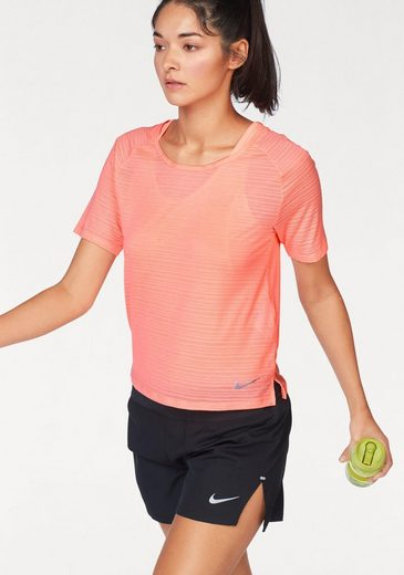 Nike Laufshirt MILER TOP SHORTSLEEVE BREATHE