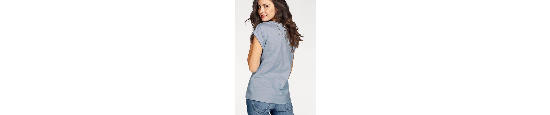 Print Front mit Shirt KangaROOS Shirt T KangaROOS gro脽em T wRqx7Czg