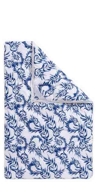 4-Jahreszeitenbett, »Blue leaves«, Guido Maria Kretschmer Home&Living, 4-Jahreszeiten, (1-tlg)