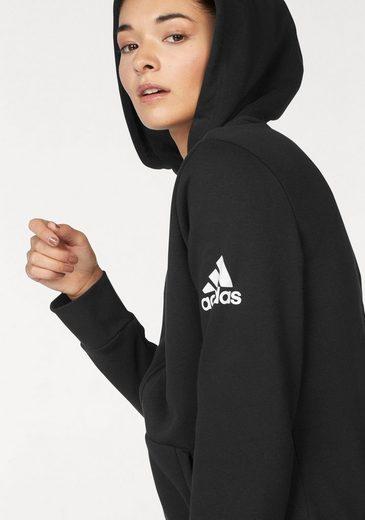 Hoodie« Adidas Großen Solid Fz Kapuzensweatjacke Performance In Auch »essential Größen wPqrXCxP