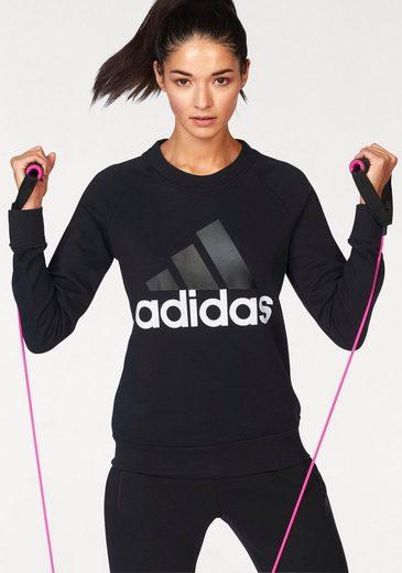 adidas Performance Sweatshirt »ESSENTIAL LIN SWEAT« auch in großen Größen