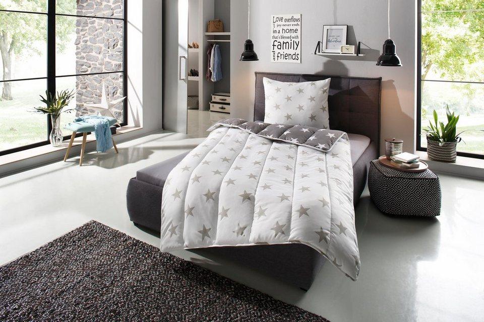 Bettdecke Kopfkissen Alina Ribeco Warm Material Fullung Kunstfaser Online Kaufen Otto