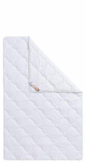 Bettdecke + Kopfkissen, »Mondschein Baumwolle Aloe Vera«, Traumecht, leicht, Material Füllung: Kunstfaser, (Set)