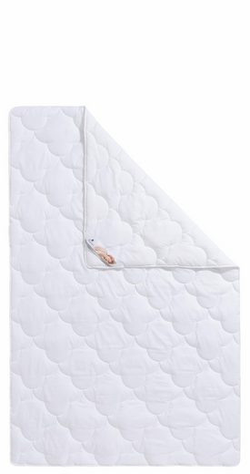 Bettdecken + Kopfkissen, »Mondschein Baumwolle Aloe Vera«, Traumecht, leicht, Material Füllung: Kunstfaser