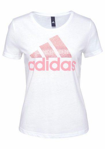 adidas Performance T-Shirt FOIL TEXT BOS