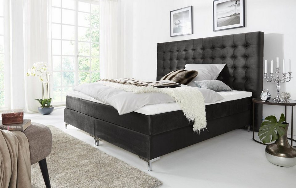 leonique boxspringbett online kaufen otto. Black Bedroom Furniture Sets. Home Design Ideas