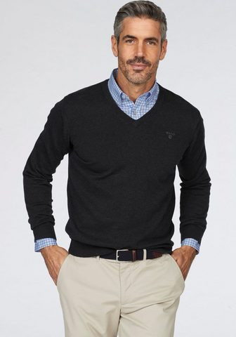 GANT Пуловер с V-образным вырезом