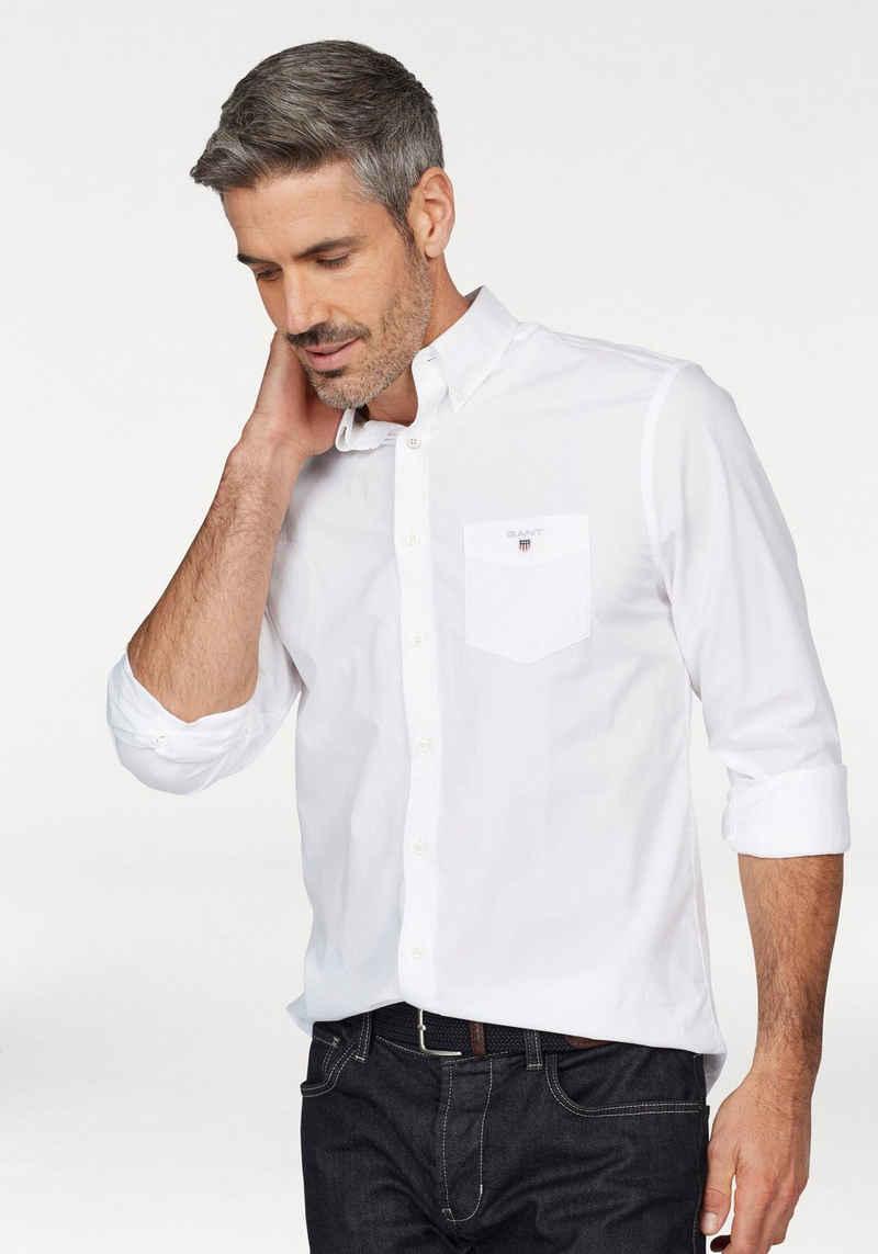 Gant Langarmhemd mit Brusttasche