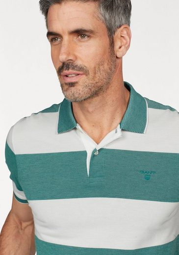 Gant Poloshirt Oxford Stripe Rugger