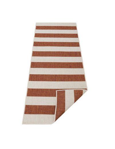 Läufer »Alan«, andas, rechteckig, Höhe 5 mm, In- und Outdoor geeignet, Wendeteppich