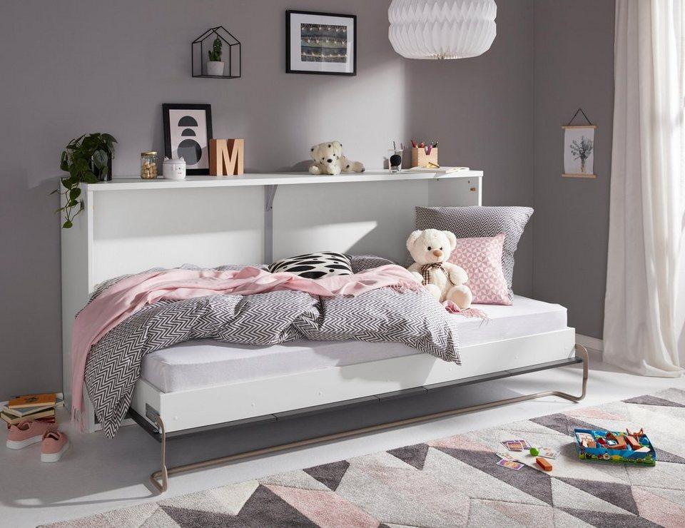 klappbett wahlweise mit led beleuchtung kaufen otto. Black Bedroom Furniture Sets. Home Design Ideas