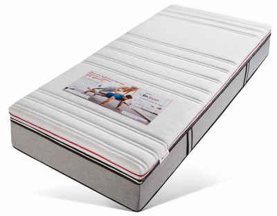 Topper »Hydrux 4 Seasons«, BeCo EXCLUSIV, 9 cm hoch, Raumgewicht: 35, Hydrux-Schaum, mit Winter- & Sommerseite