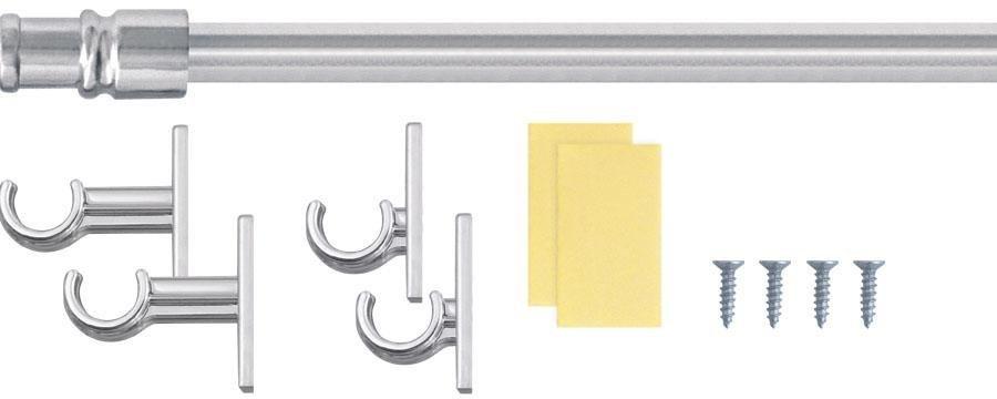Scheiben-Stange, Good Life, »Bistro«, Ø 12 mm, mit Klebehaken | Heimtextilien > Gardinen und Vorhänge > Gardinenstangen | Metall - Kunststoff - Holz | Good Life