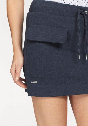 KangaROOS Sweatrock, mit Taschen und großen Taschenklappen vorne