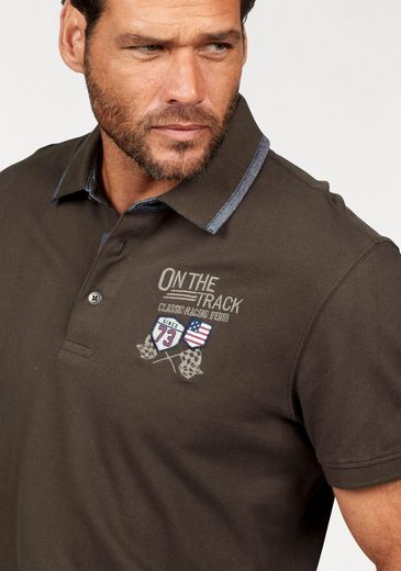 Arizona Poloshirt, in Piqué-Qualität