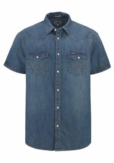 Wrangler Jeanshemd Western Shirt