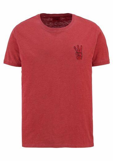 Wrangler T-Shirt Overdye Hand