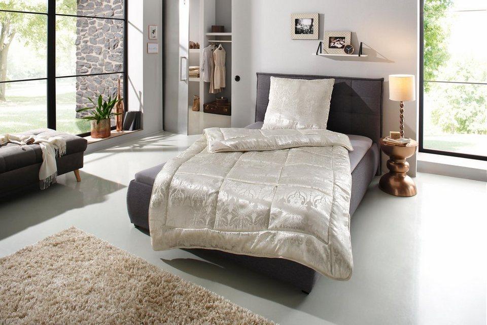 Kunstfaserbettdecke Senna Ribeco Normal Fullung 100 Polyester Bezug 100 Polyester 1 Tlg Online Kaufen Otto