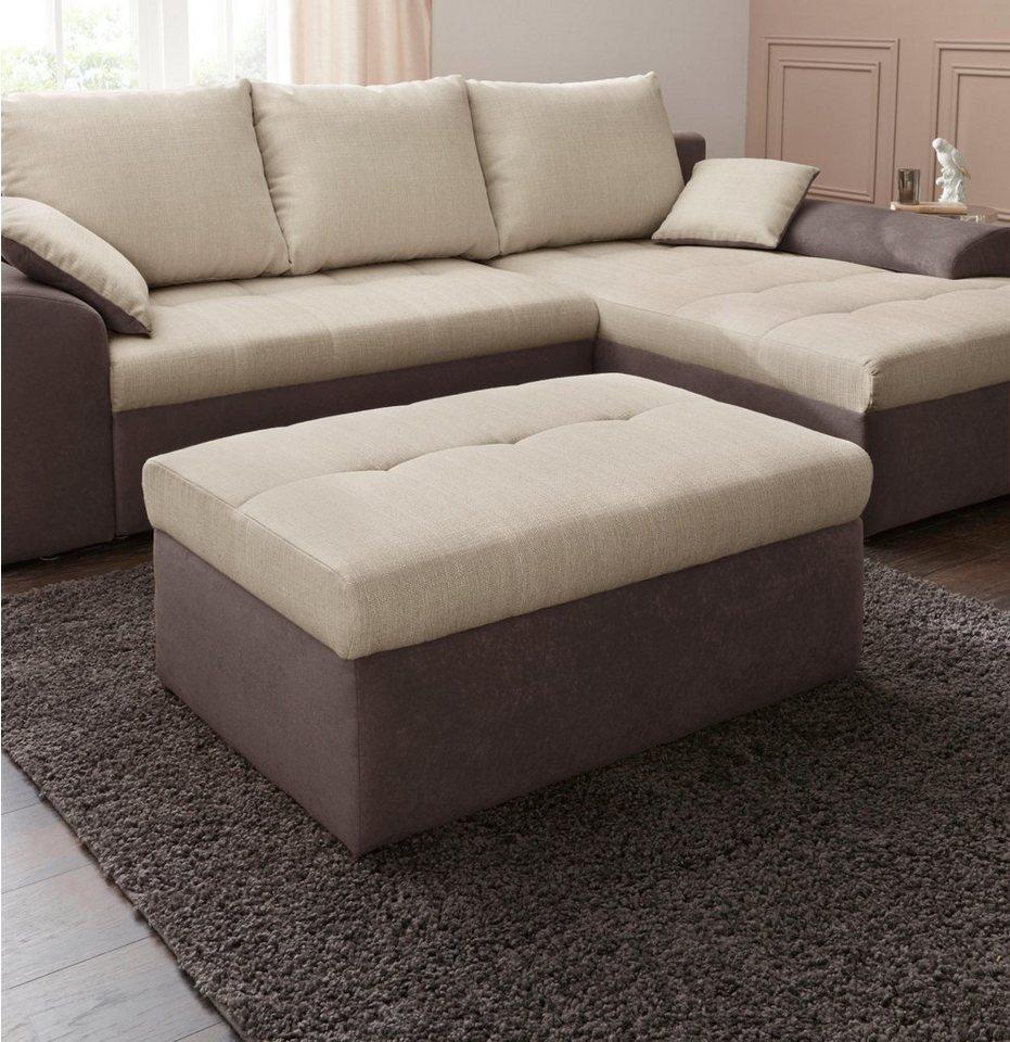 raum id polsterhocker mit stauraum online kaufen otto. Black Bedroom Furniture Sets. Home Design Ideas