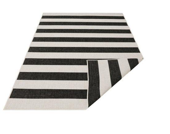 Teppich »Alan«, andas, rechteckig, Höhe 5 mm, In- und Outdoor geeignet, Wendeteppich, Wohnzimmer
