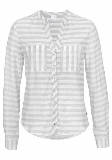 KangaROOS Hemdbluse, im sportiven Streifen-Muster