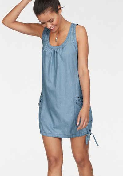 KangaROOS Jeanskleid im sportlich-lässigem Stil