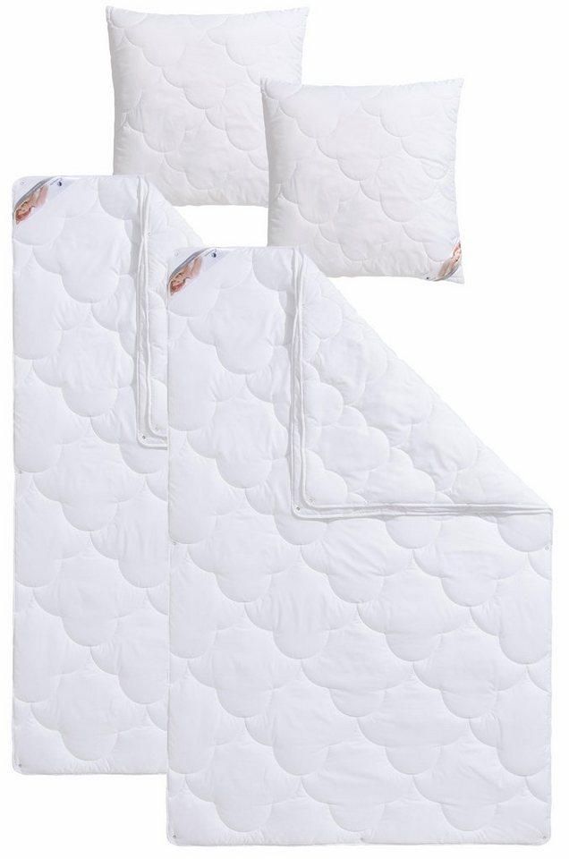 4 Jahreszeitenbett Kopfkissen Mondschein Antibac Traumecht 4 Jahreszeiten Material Fullung Polyester Set Online Kaufen Otto