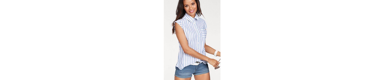 KangaROOS Hemdbluse, mit überschnittener Schulter