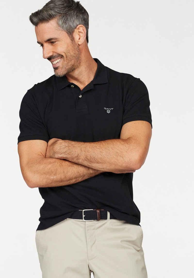 Gant Poloshirt »Summer Pique« mit kleinem Marken-Logo