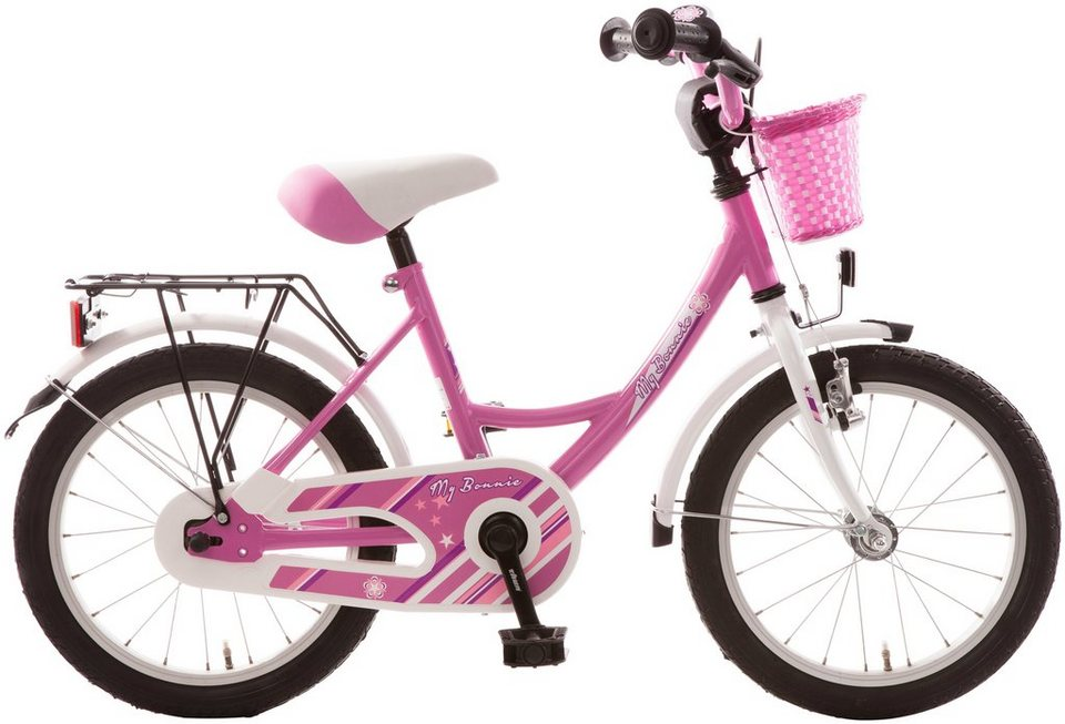 bachtenkirch kinderfahrrad my bonnie 16 zoll 1 gang. Black Bedroom Furniture Sets. Home Design Ideas