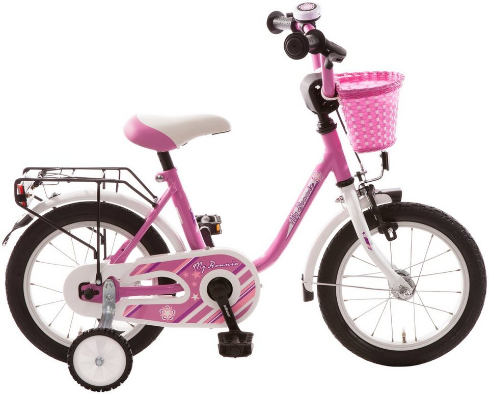 bachtenkirch kinderfahrrad my bonnie 14 zoll 1 gang. Black Bedroom Furniture Sets. Home Design Ideas